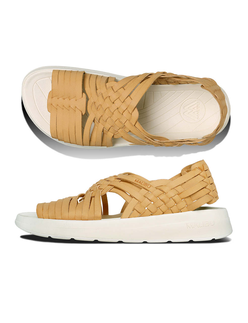 CANYON PU LEATHER (BEIGE/PAPYRUS)