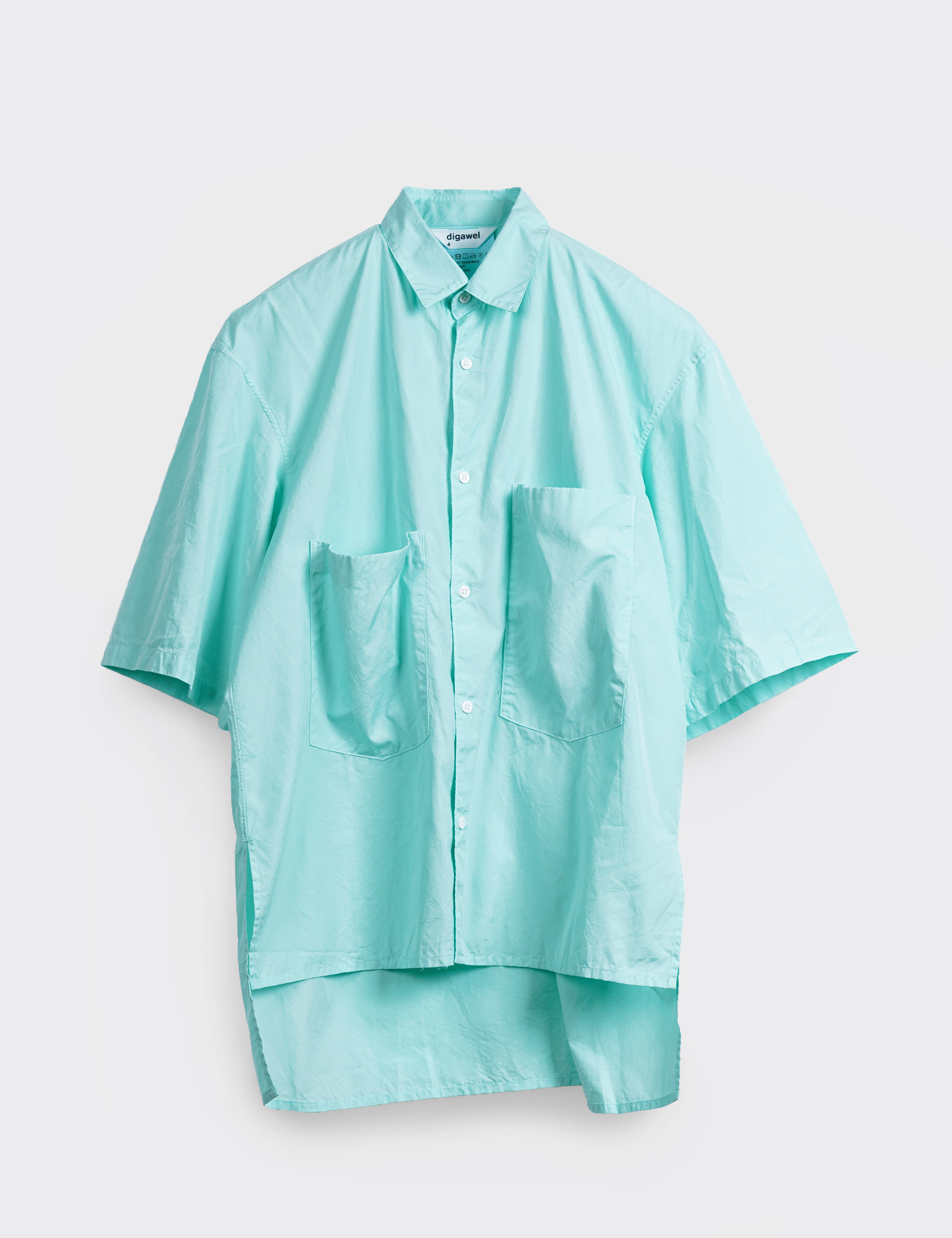 BIG POCKET S/S SHIRT (MINT)