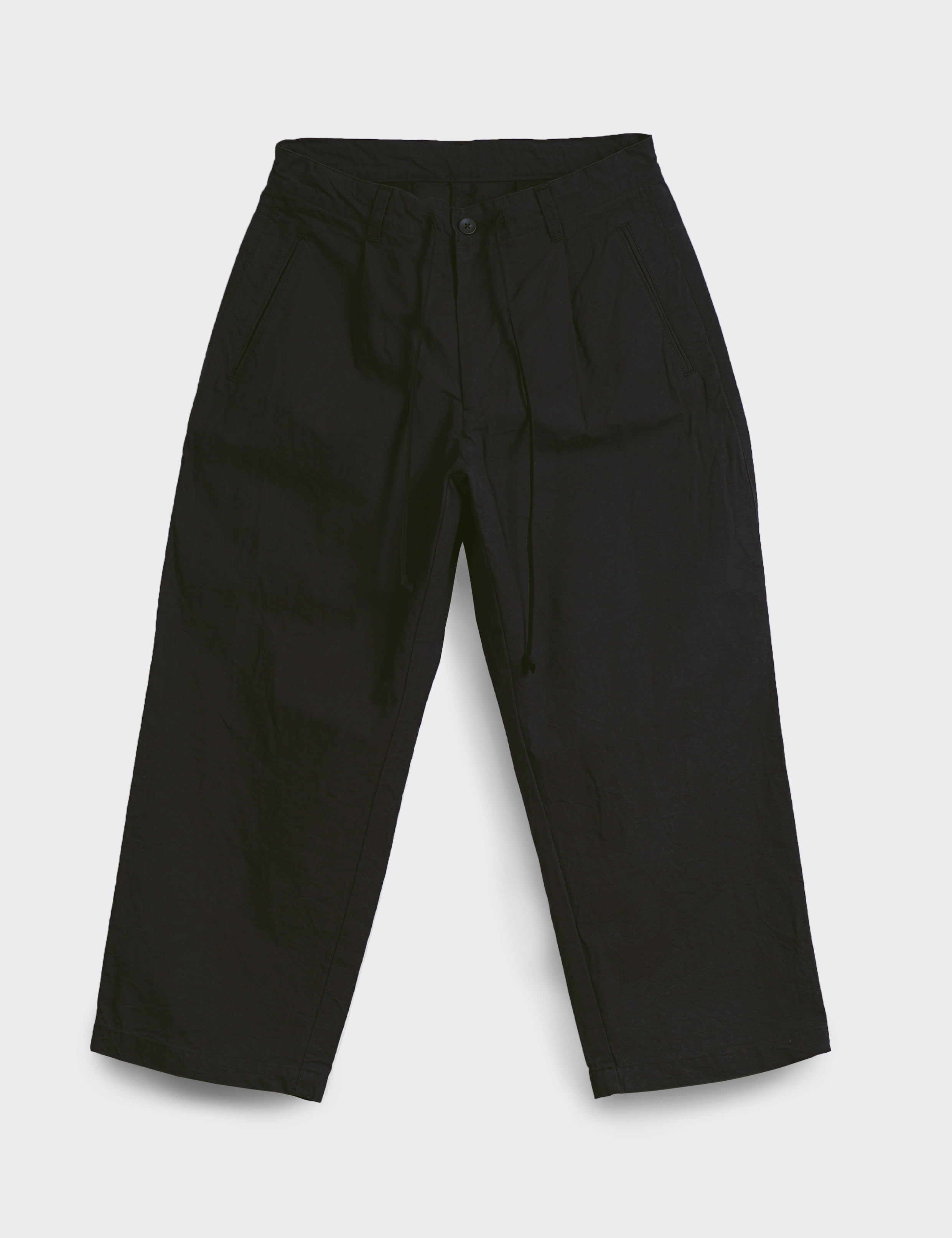 WIDE PANTS (BLACK)