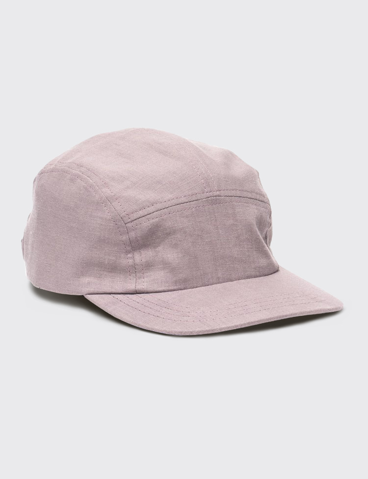 TRAIL CAP LINEN (WINE)