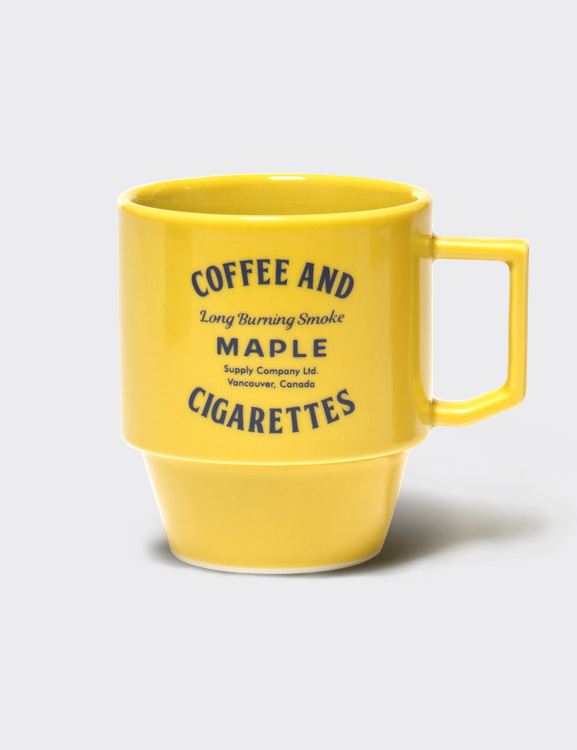 MAPLE x HASAMI BLOCK MUG (YELLOW)