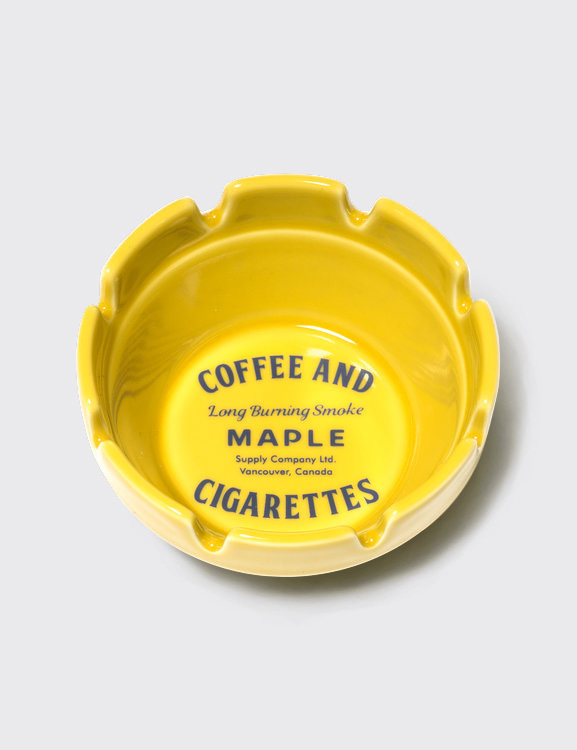 MAPLE x HASAMI BLOCK ASHTRAY (YELLOW)