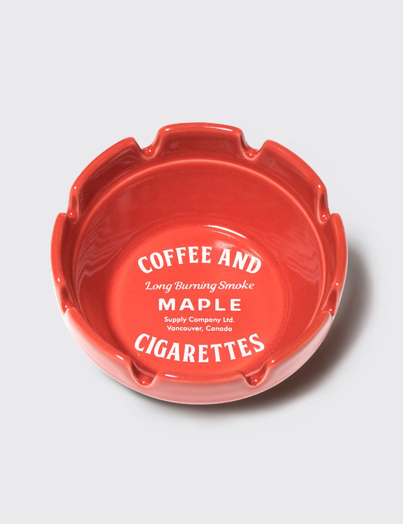 MAPLE x HASAMI BLOCK ASHTRAY (RED)
