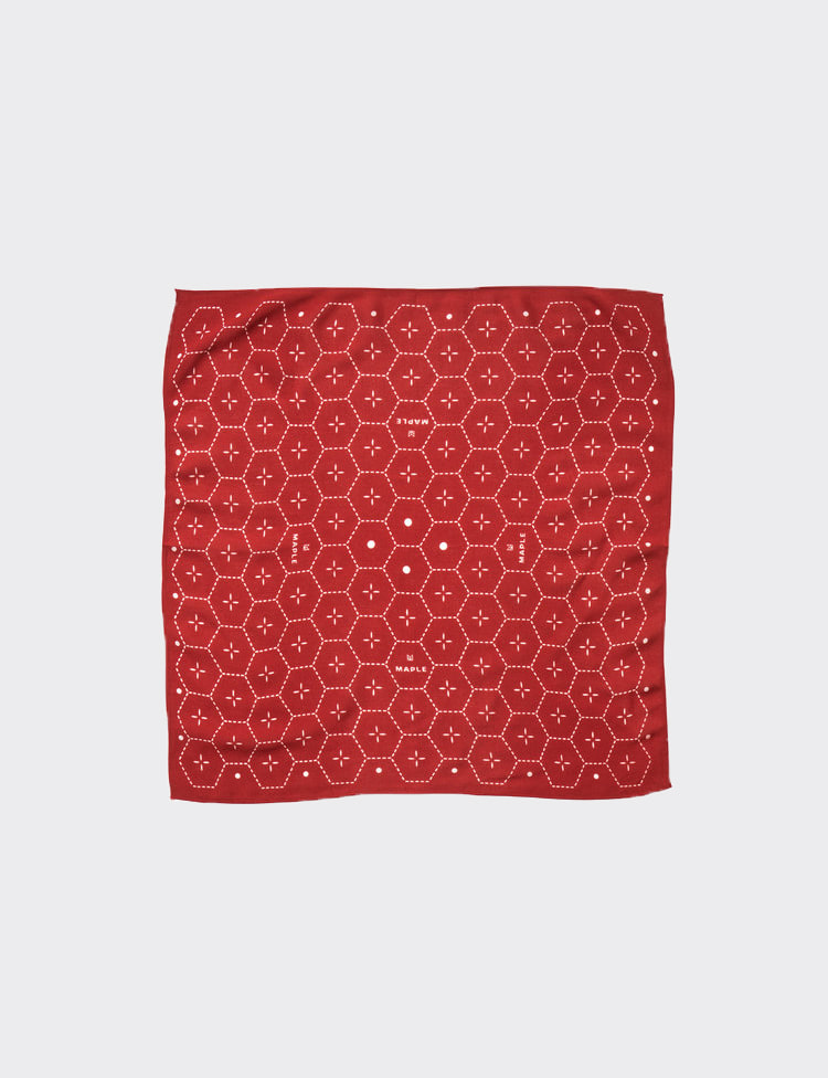 DOT BANDANA (RED)