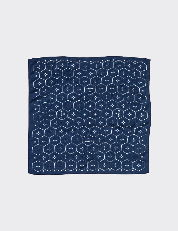 DOT BANDANA (NAVY)