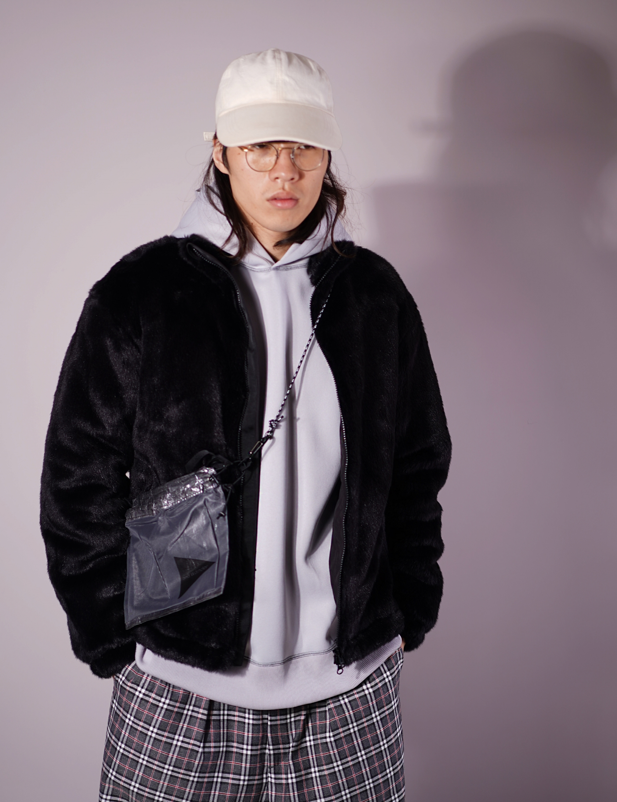 FUR BLOUSON (BLACK)