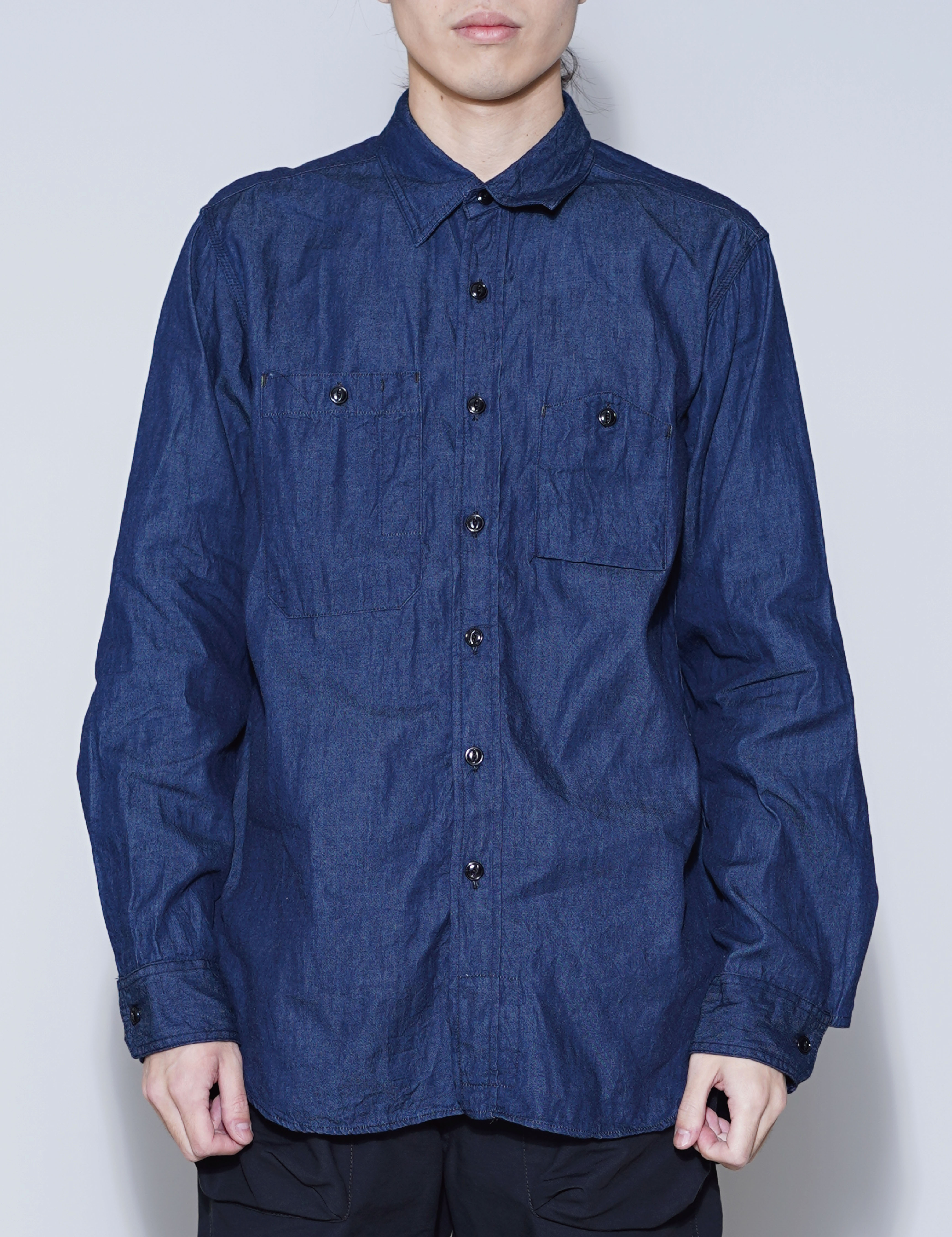WORK SHIRT (INDIGO)