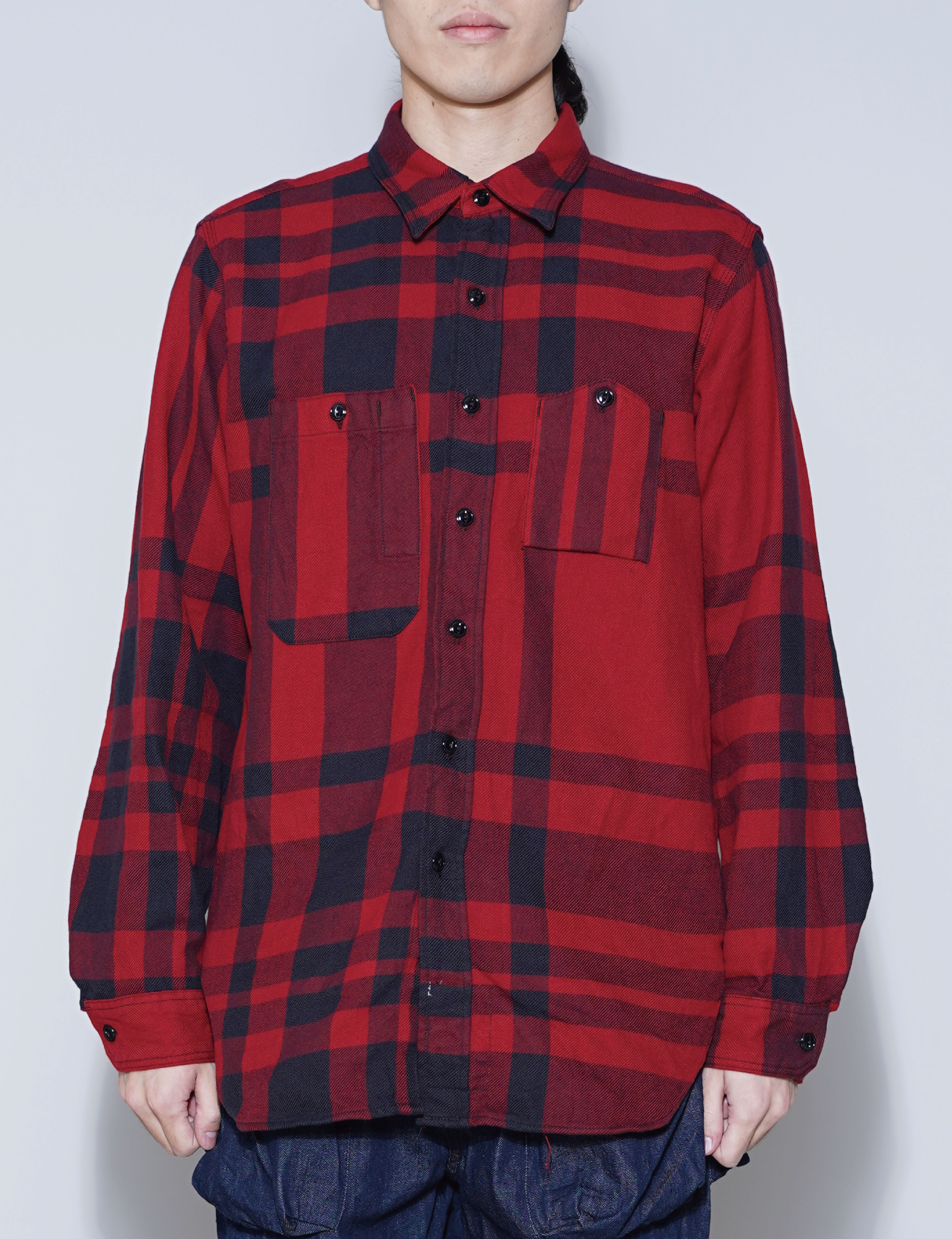 WORK SHIRT (RED/BLACK)