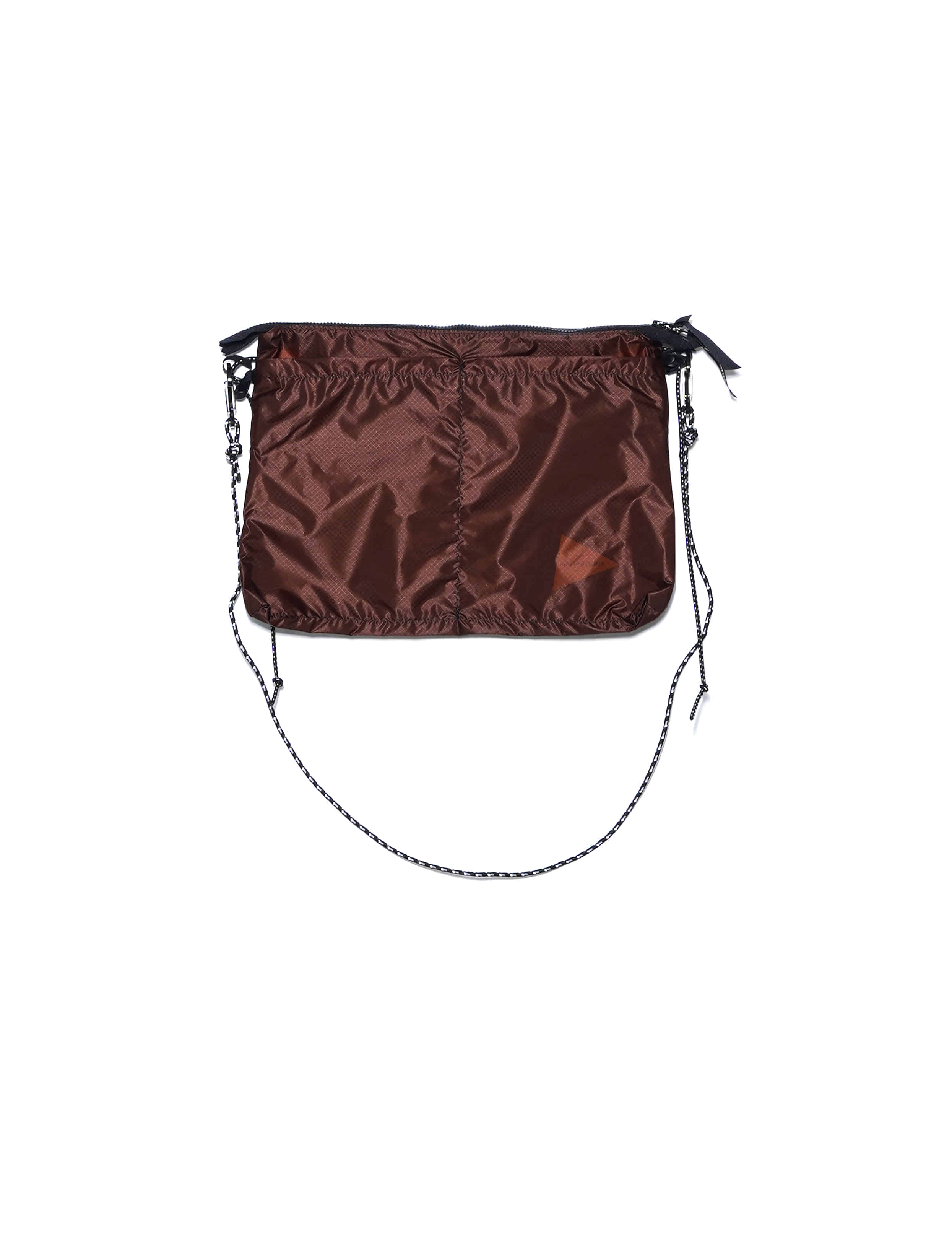 BAG / NYLON (WOVEN) (BROWN)