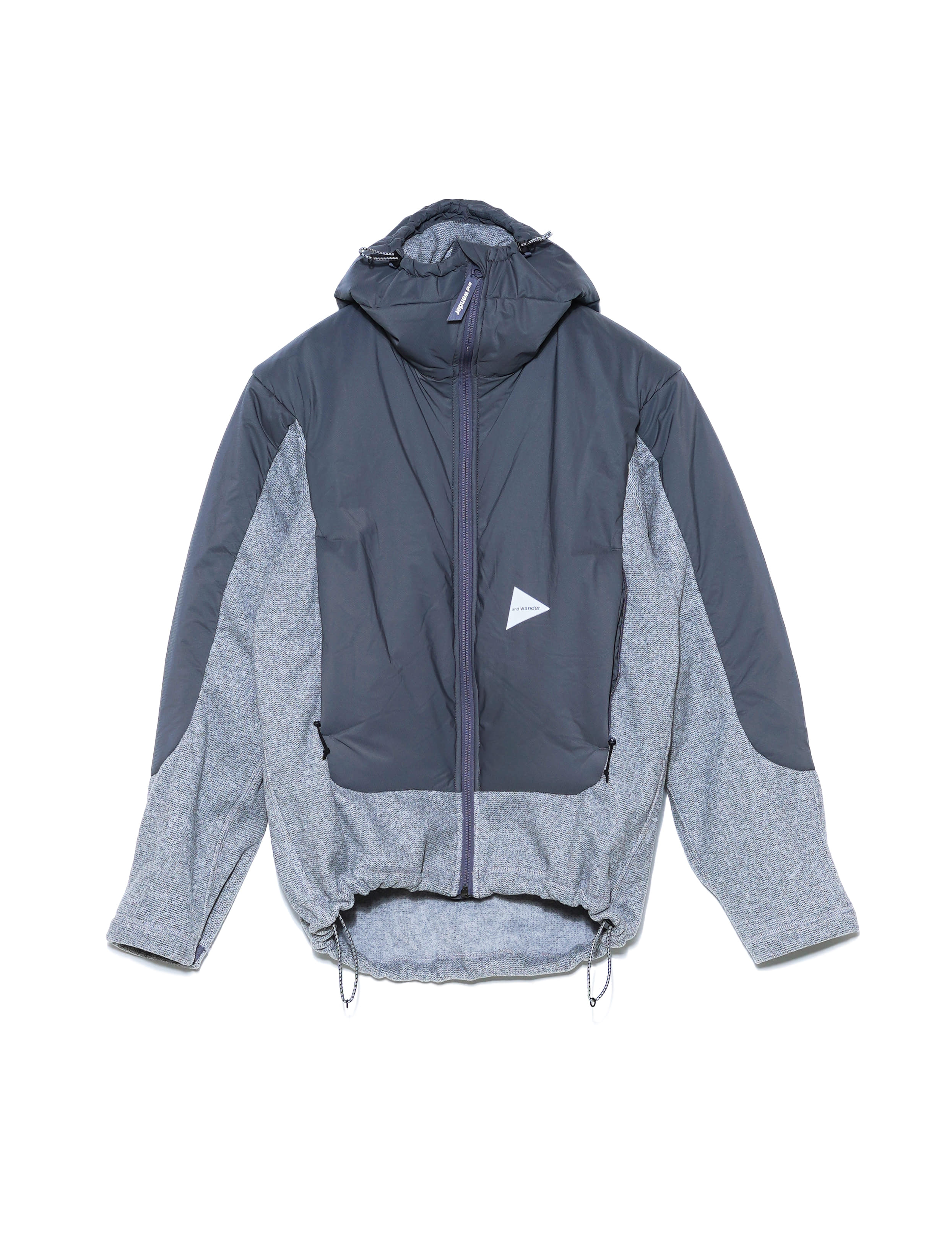TOP FLEECE JACKET (GRAY)