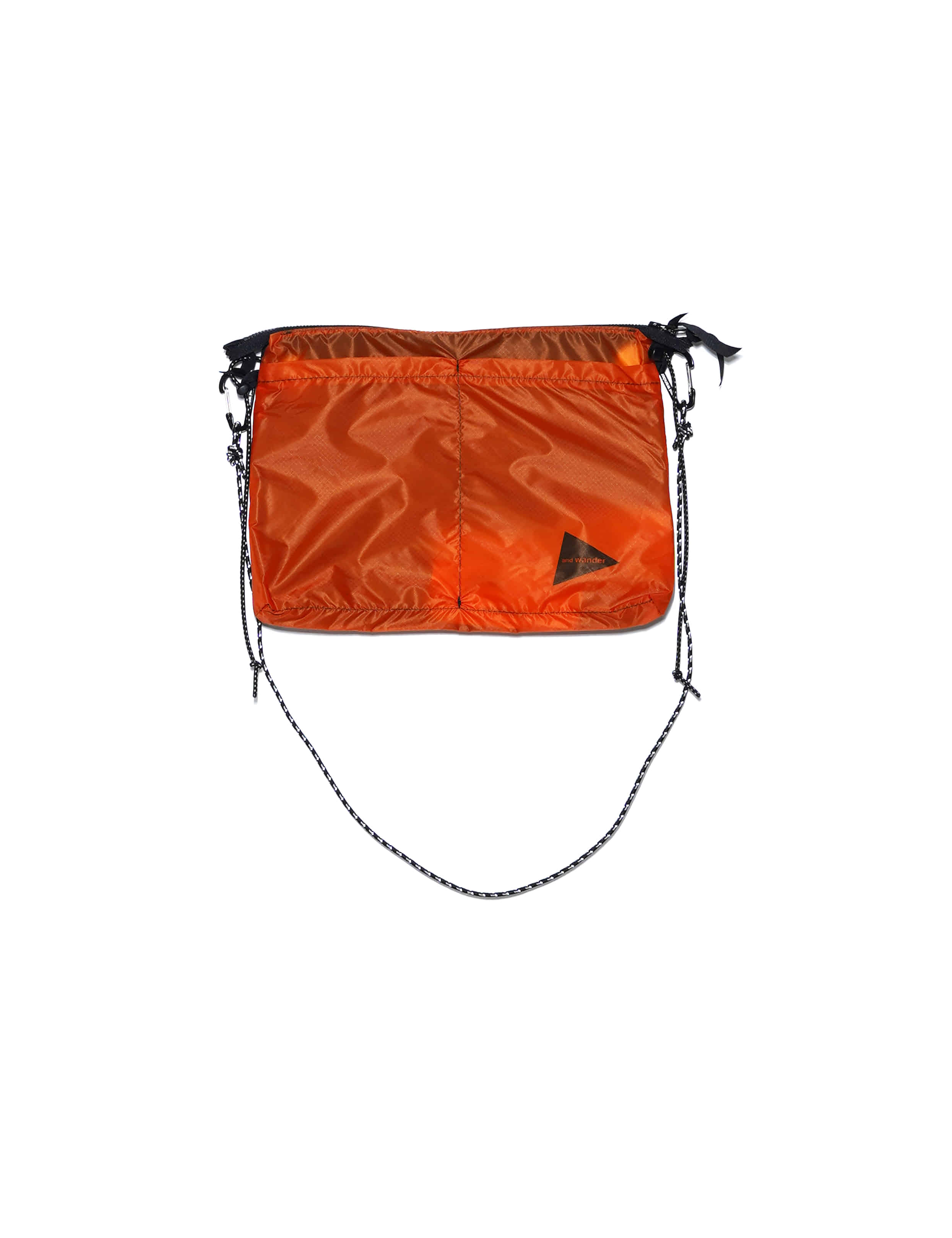 BAG / NYLON (WOVEN) (ORANGE)