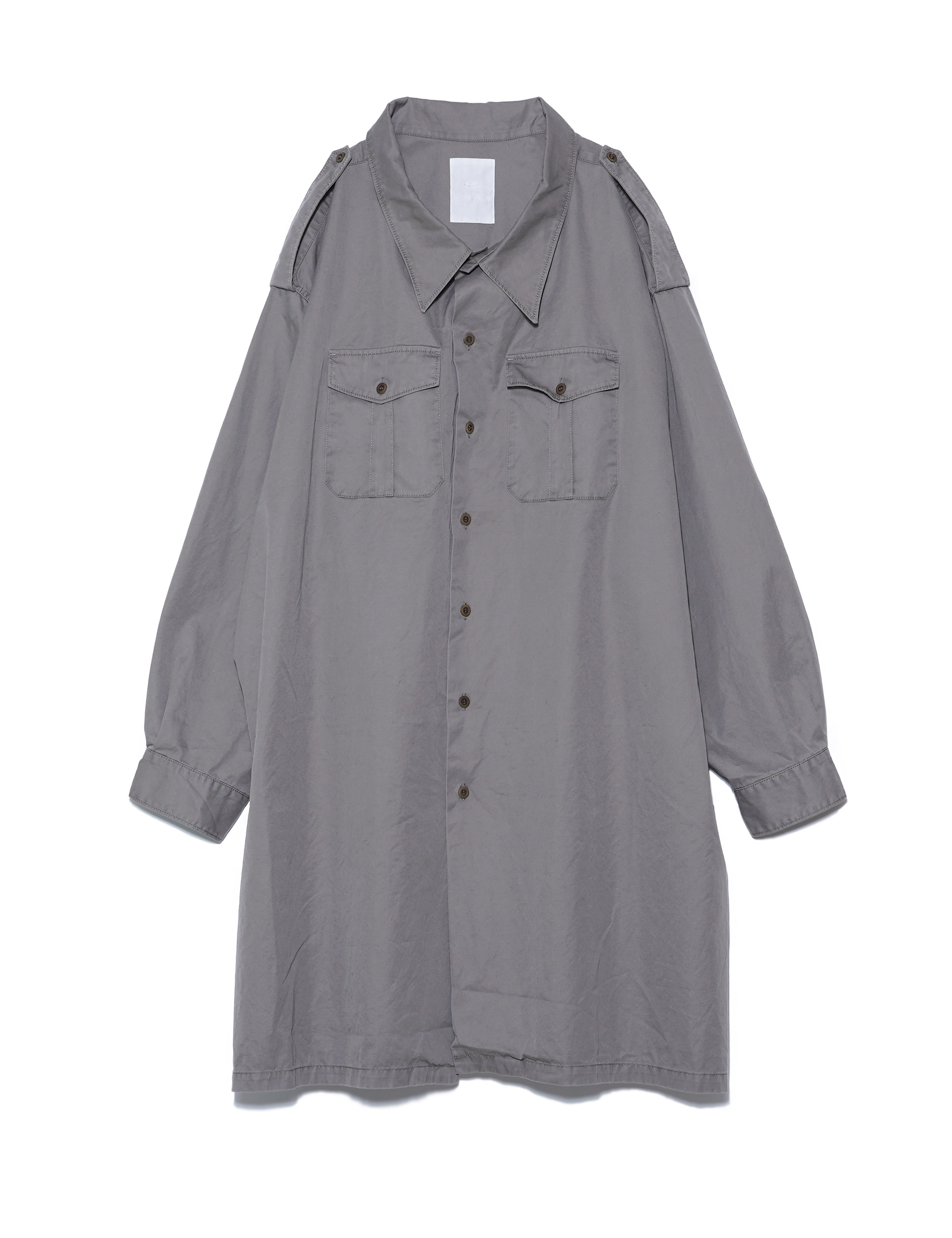 5X SHIRT/ TYPE.2 LONG (MOSS GRAY)