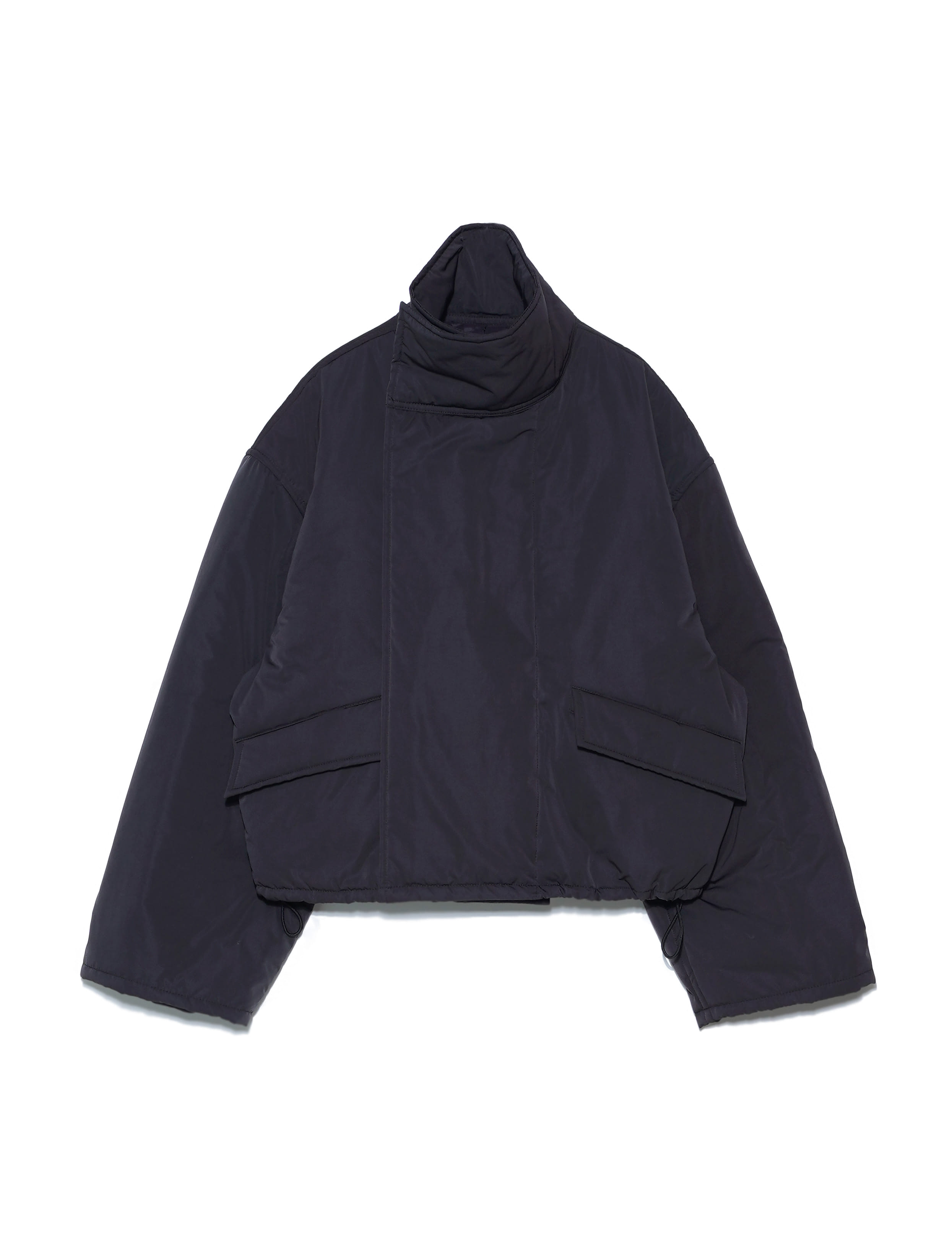 TIBET COAT SHORT (BLACK)