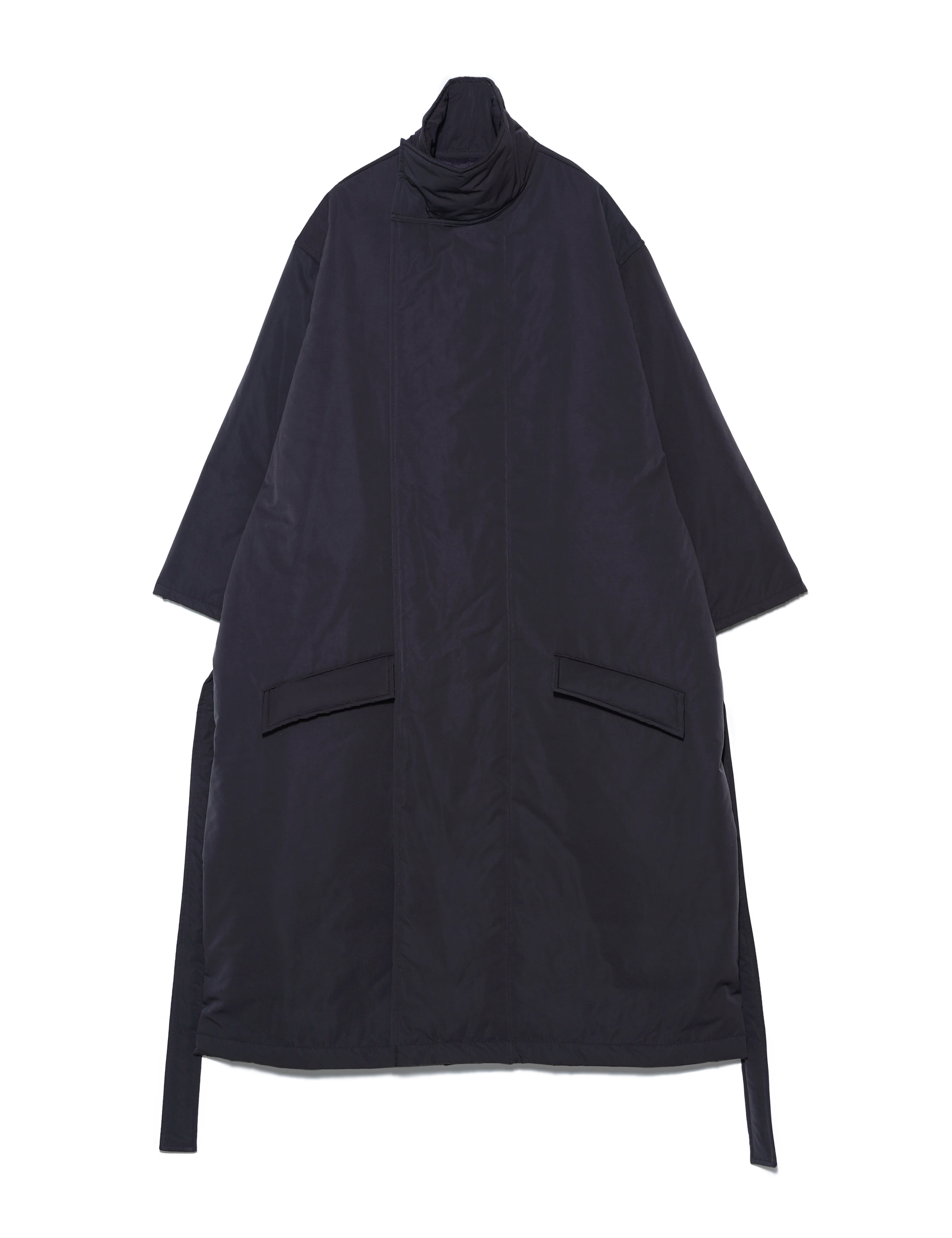 TIBET COAT LONG (BLACK)
