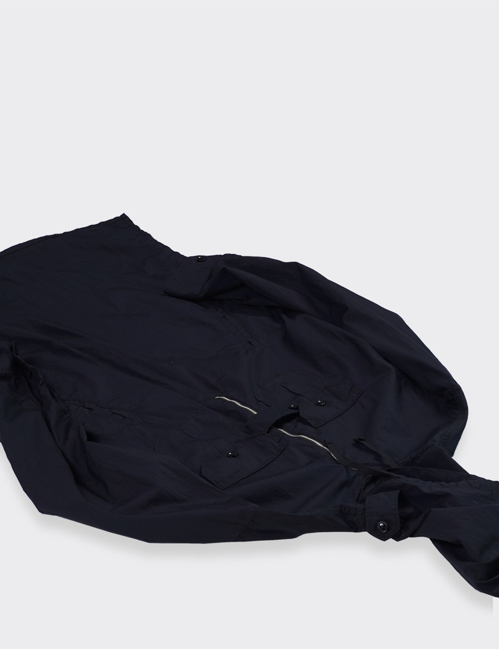 Engineered Garments : BUSH SHIRT (BLACK)