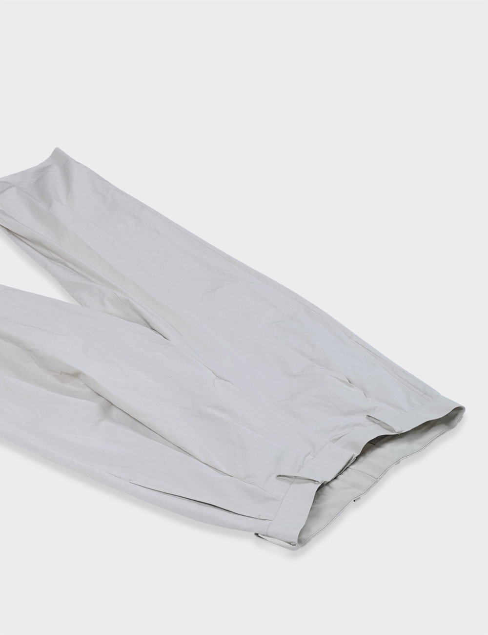 URU : 1TUCK PANTS / TYPE A (IVORY)
