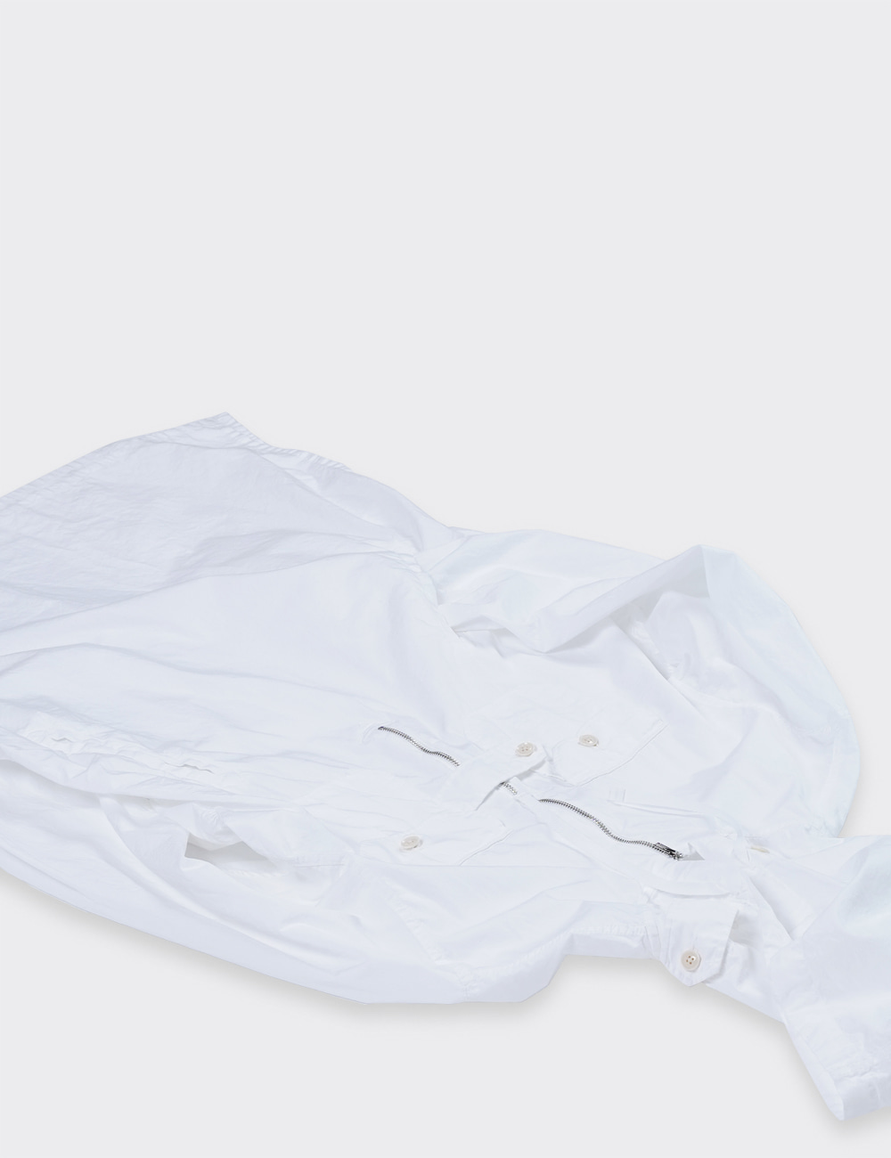 Engineered Garments : BUSH SHIRT (WHITE)