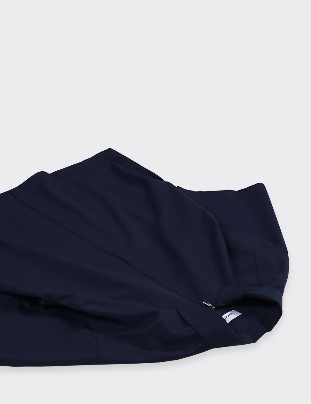 lownn : ZIP SHIRTS (NAVY)