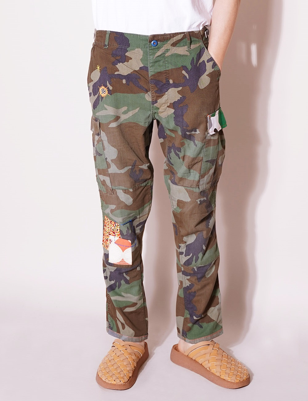 ATELIER & REPAIRS : CAMO CARGO PANT ON LSD (SIZE 34) - B Type