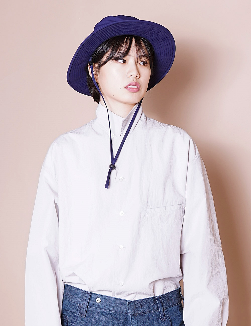 ESSAY : A-02 MOUNTAIN HAT (BLUE)