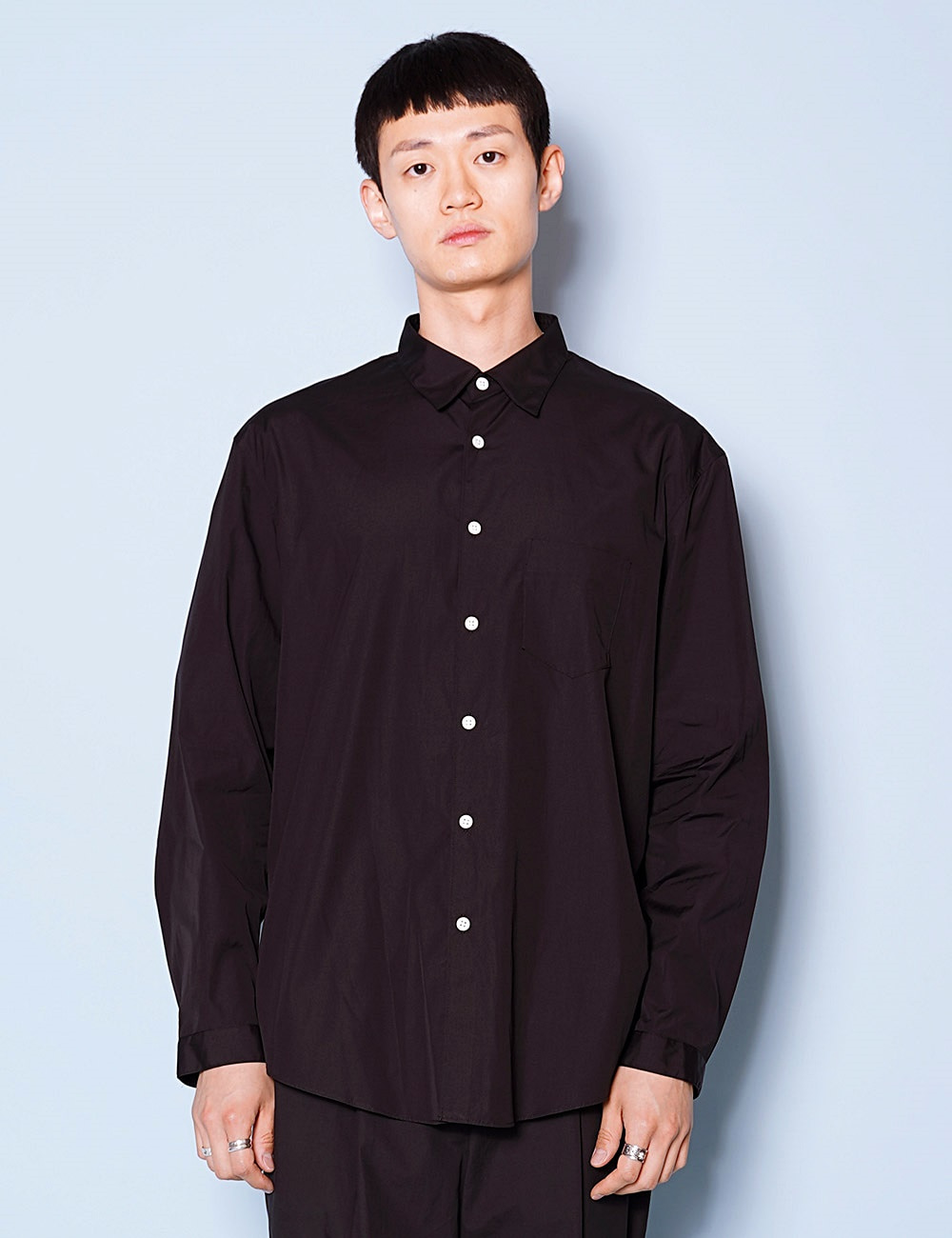 DIGAWEL : SHIRT GENERIC PLAIN (BLACK)