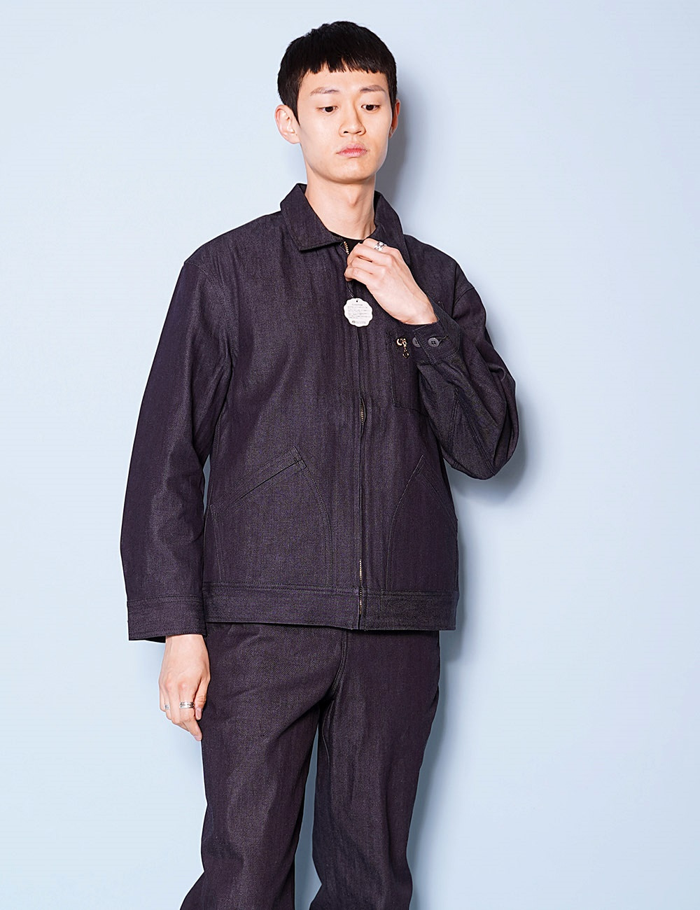 DIGAWEL : DIGAWEL*LEE WORK JACKET (BLUE)