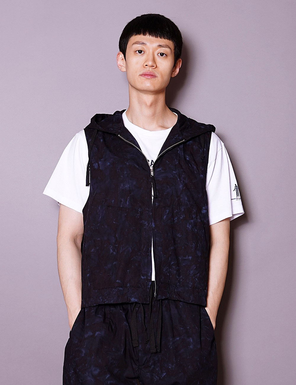 RANDT : STUDIO VEST (NAVY/BLACK)