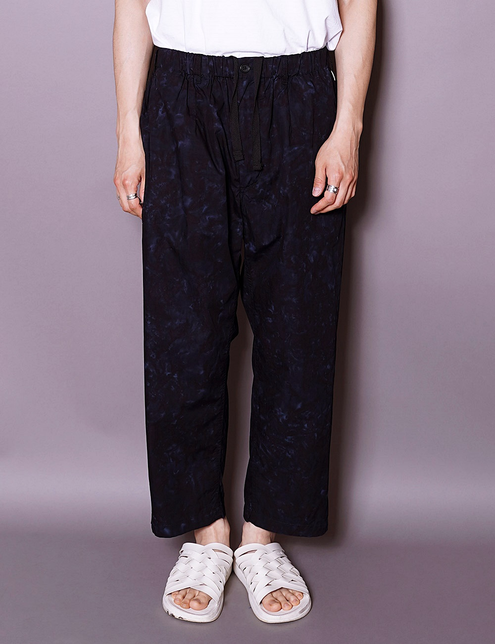 RANDT : STUDIO PANTS (NAVY/BLACK)