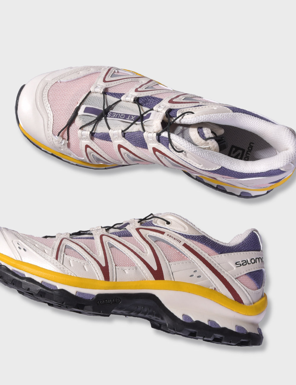 salomon : XT-QUEST (CADET/TROPICAL PEACH/VANILLA ICE)